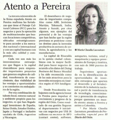 Atento a Pereira