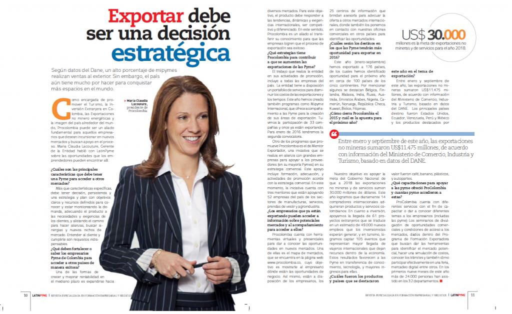 Pymes tienen un alto potencial para aprovechar oportunidades de exportación
