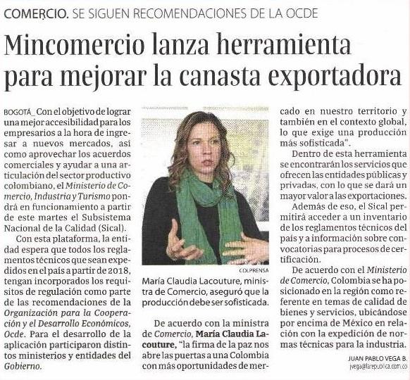 Mincomercio lanza herramienta para mejorar la canasta exportadora